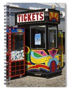 Coney Island Memories 3 Spiral Notebook