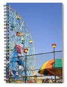 Coney Island Memories 6 Spiral Notebook