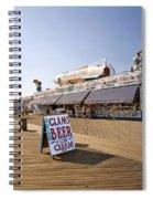 Coney Island Memories 7 Spiral Notebook