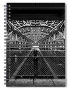 Coney Island Stillwell Ave Subway Station Spiral Notebook
