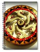 Coney Island Wheel Spiral Notebook