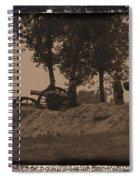 Confederate Artillery Battery Spiral Notebook