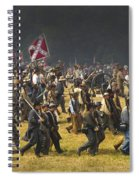Confederate Charge At Gettysburg Spiral Notebook