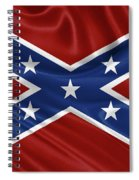 Confederate Flag - Second Confederate Navy Jack And The Battle Flag Of Northern Virginia Spiral Notebook