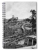 Confederate Fort Spiral Notebook