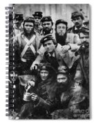 Confederate Soldiers, 1861 - To License For Professional Use Visit Granger.com Spiral Notebook