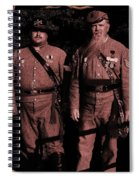 Confederate Tintype Civil War Spiral Notebook