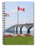 Confederation Bridge 5524  Spiral Notebook