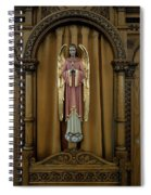 Confessional - Our Lady Of Lourdes Cathedral - Spokane Spiral Notebook