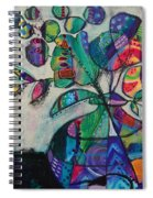 Confident Blooms.marymconner Spiral Notebook