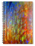 Confident Drapery Spiral Notebook
