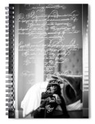 Confidently Lost - Immortal Beloved Love Letter Spiral Notebook