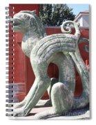 Confucius Temple Phoenix  Spiral Notebook