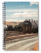 Congested Tracks Spiral Notebook