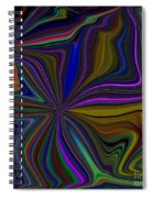 Conglomerate Of The Color Wheel Spiral Notebook
