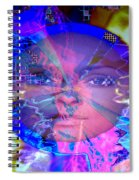 Congo Queen Mandala Spiral Notebook