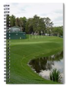 Congressional Blue Course - Sweet Par 3 10th Spiral Notebook