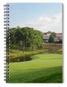 Congressional Blue Course - The Finish - Par 4 18th Spiral Notebook