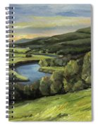 Connecticut River Valley View Two Spiral Notebook