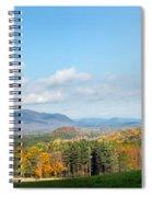 Connecticut Scenic Vista Spiral Notebook