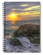 Connecticut Sunset Spiral Notebook