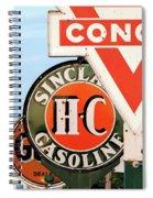 Conoco Sign 081117 Spiral Notebook