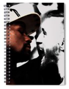 Conor Mcgregor And Floyd Mayweather Face Off  Spiral Notebook