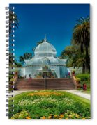 Conservatory Of Flowers - San Francisco Spiral Notebook