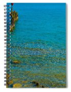 Constance Lake Landscape Spiral Notebook