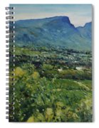 Constantia Valley Cape Town South Africa 2017 Spiral Notebook