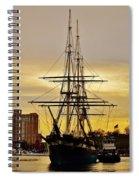 Constellation Gold Spiral Notebook