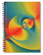 Constellation Of Planets Spiral Notebook