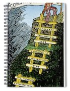 Constitution Cartoon Spiral Notebook