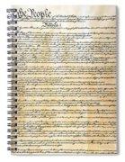 Constitution Spiral Notebook