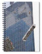 Construction Reflection Spiral Notebook
