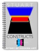 Constuctivist Poster Spiral Notebook
