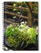 Contained Flowers  Spiral Notebook