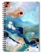 Contemporary Abstract Art - The Flood - Sharon Cummings Spiral Notebook