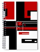 Contemporary Design IIi Spiral Notebook