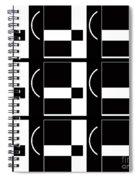 Contemporary Design Vii Spiral Notebook