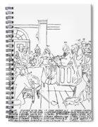 Continental Congress, 1774 Spiral Notebook