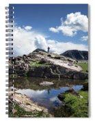 Continental Divide Above Twin Lakes 2 - Weminuche Wilderness Spiral Notebook