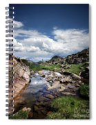 Continental Divide Above Twin Lakes 3 - Weminuche Wilderness Spiral Notebook