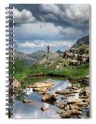 Continental Divide Above Twin Lakes 4 - Weminuche Wilderness Spiral Notebook