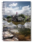 Continental Divide Above Twin Lakes 5 - Weminuche Wilderness Spiral Notebook