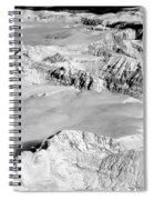 Continental Divide Clouds Rocky Mountains Spiral Notebook