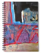 Contradiction Of Time Spiral Notebook