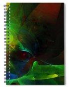 Contrast Bath Spiral Notebook