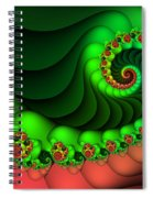 Contrasted Harmony Spiral Notebook