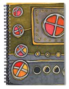Control Panel  Spiral Notebook